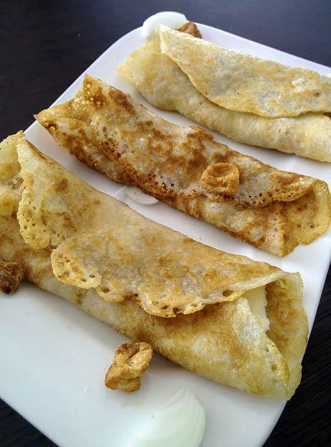 Tortilja s vrhnjem i čvarcima