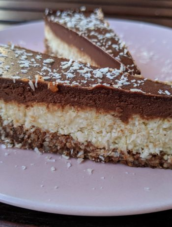 bezglutenske torta od kokosa i čokolade